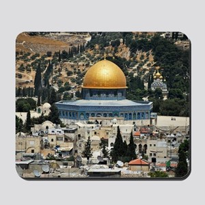Dome of the Rock, Temple Mount, Jerusale Mousepad