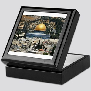 Dome of the Rock, Temple Mount, Jerus Keepsake Box