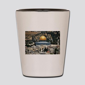 Dome of the Rock, Temple Mount, Jerusal Shot Glass