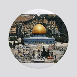 Dome of the Rock, Temple Mount, J Ornament (Round)