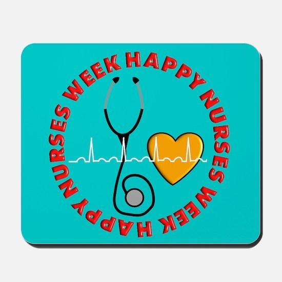 Happy Nurses Week Mousepad