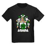 Schurman Family Crest Kids Dark T-Shirt