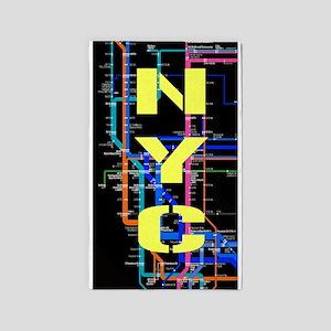 NYC Subway Area Rug
