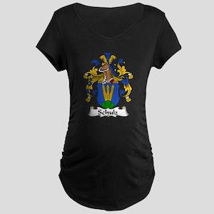 Schulz Family Crest Maternity Dark T-Shirt