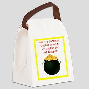 wolfe joke Canvas Lunch Bag