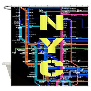 Subway Shower Curtains