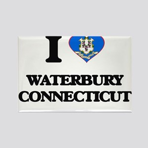 I love Waterbury Connecticut Magnets