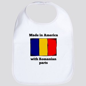 Made In America With Romanian Parts Bib