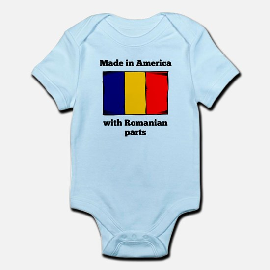 Made In America With Romanian Parts Body Suit