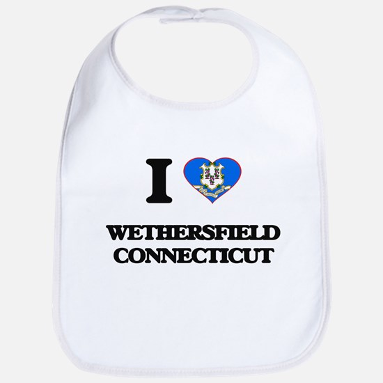 I love Wethersfield Connecticut Bib