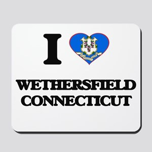 I love Wethersfield Connecticut Mousepad
