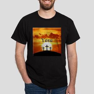 Swahili Yesu Dark T-Shirt