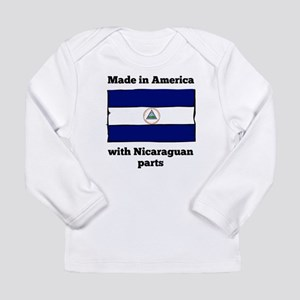 Made In America With Nicaraguan Parts Long Sleeve