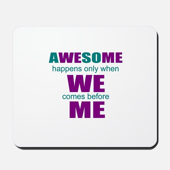inspirational leadership Mousepad