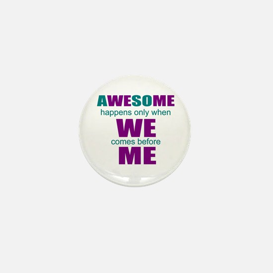 inspirational leadership Mini Button