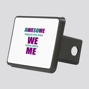 inspirational leadership Rectangular Hitch Cover