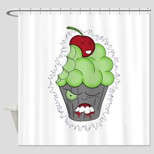 Cupcake of Doom Shower Curtain