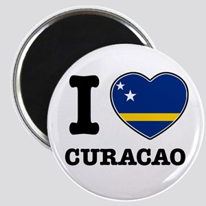 I love Curacao Magnet