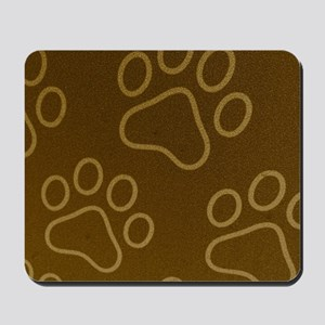 Dog Prints Mousepad