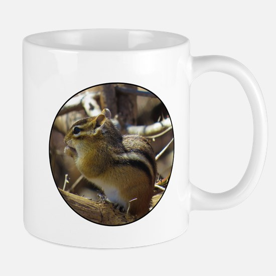 Chipmunk Eating Mugs