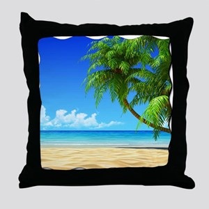 Paradise Revisited Throw Pillow