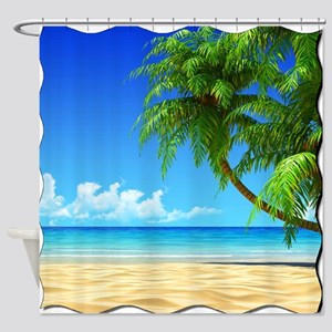 Paradise Revisited Shower Curtain