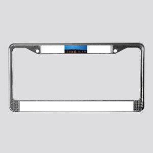 Boathouse Row, Nighttime Panor License Plate Frame