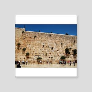 Western Wall (Kotel), Jerusalem, Israel Sticker