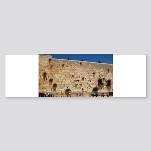 Western Wall (Kotel), Jerusalem, Is Bumper Sticker