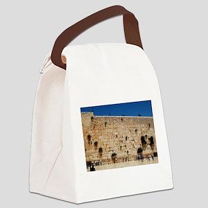 Western Wall (Kotel), Jerusalem, Canvas Lunch Bag