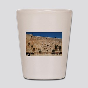 Western Wall (Kotel), Jerusalem, Israel Shot Glass