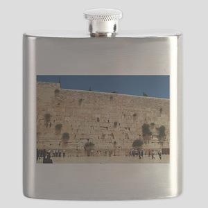 Western Wall (Kotel), Jerusalem, Israel Flask