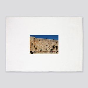 Western Wall (Kotel), Jerusalem, Is 5'x7'Area Rug