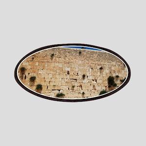 Western Wall (Kotel), Jerusalem, Israel Patch