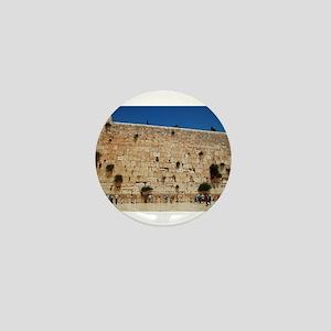 Western Wall (Kotel), Jerusalem, Israe Mini Button
