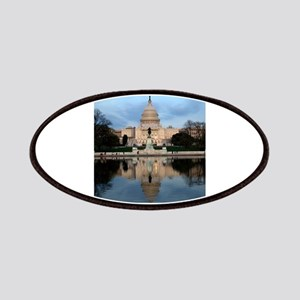 U.S. Capitol Building with Reflection Patch