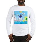 Houseboat Docking Long Sleeve T-Shirt