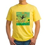 Houseboat Docking Yellow T-Shirt
