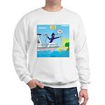 Houseboat Docking Sweatshirt