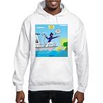 Houseboat Docking Hooded Sweatshirt