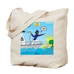 Houseboat Docking Tote Bag