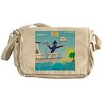 Houseboat Docking Messenger Bag