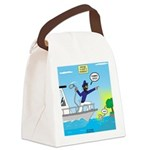 Houseboat Docking Canvas Lunch Bag