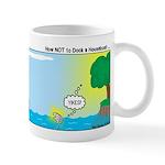 Houseboat Docking Mug