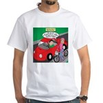 Electric Car Fix White T-Shirt
