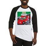 Electric Car Fix Baseball Jersey