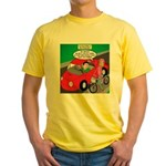 Electric Car Fix Yellow T-Shirt
