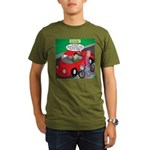 Electric Car Fix Organic Men's T-Shirt (dark)