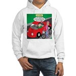 Electric Car Fix Hooded Sweatshirt