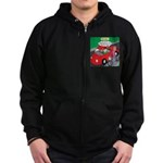 Electric Car Fix Zip Hoodie (dark)
